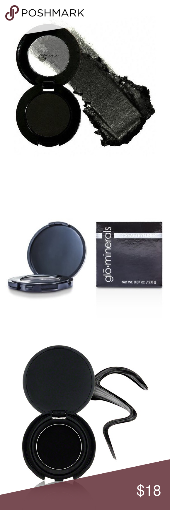 EBONY GLOminerals Cream Eyeliner NWT Boutique (With images