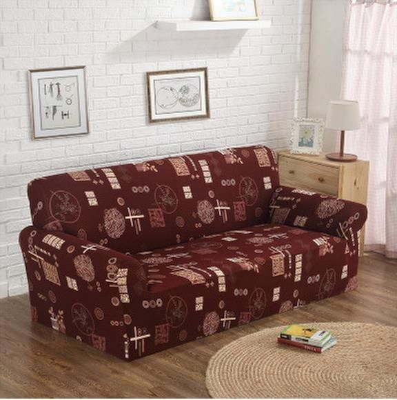 Free shippin Contracted rural cloth leather sofa set full package