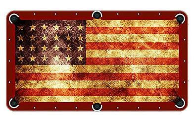 American Flag Billiards Cloth Pool Table Felt Pool Table Pool Table Cloth