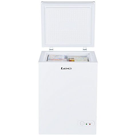 Buy Lec CF100LW Chest Freezer, A+ Energy Rating, 58.5cm Wide, White Online at johnlewis.com