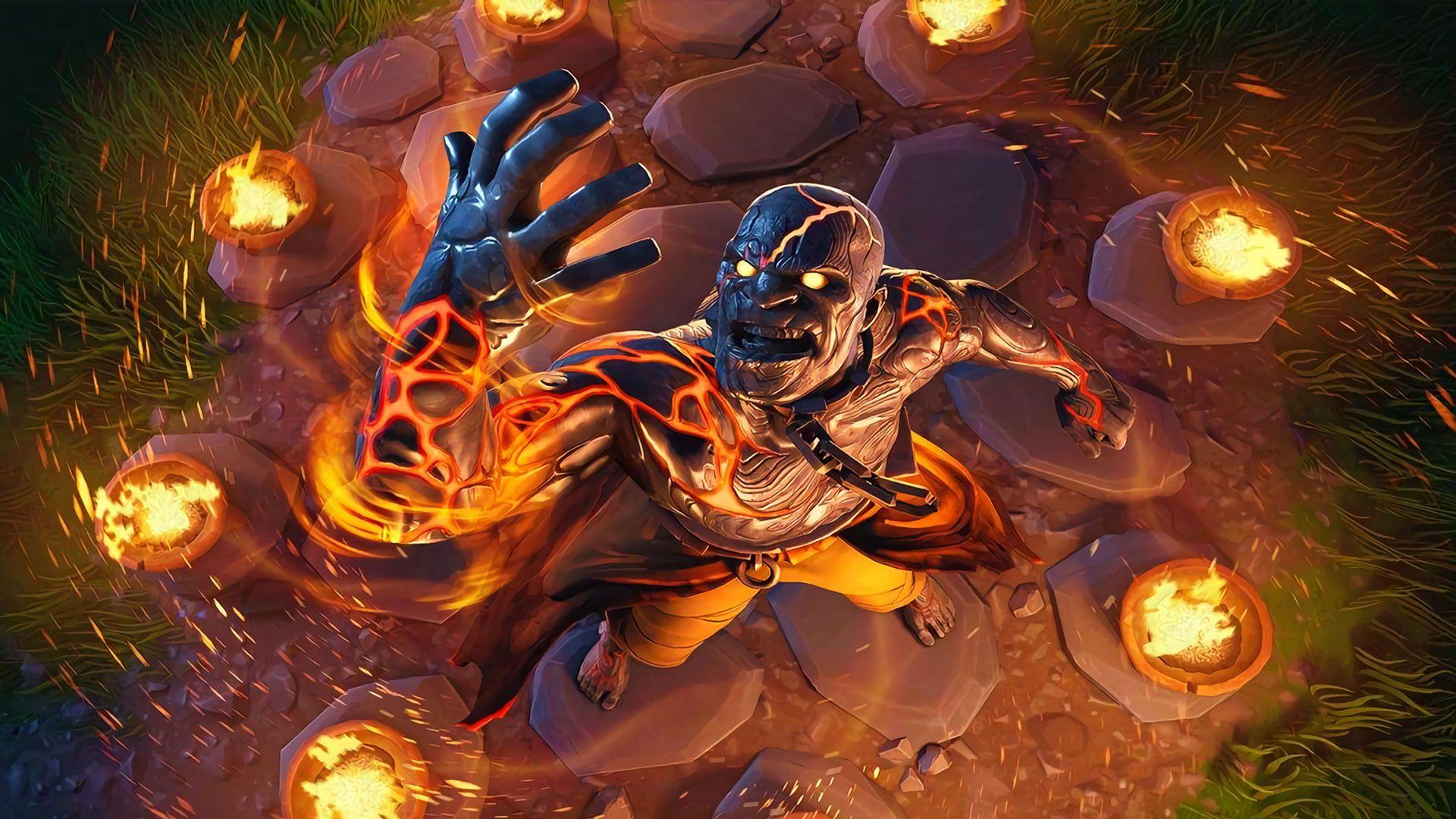 Video Game Fortnite Hd Fire Wallpaper Fortnite Season 8 Wallpaper