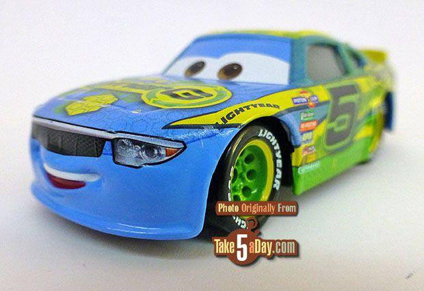 Mattel Disney Pixar Cars 3 Lane Locke In The Race For The Piston Cup 5 Pack Disney Pixar Cars Disney Cars Pixar