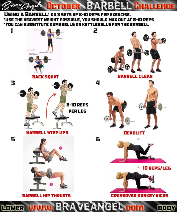 Week #4 Workout Routines