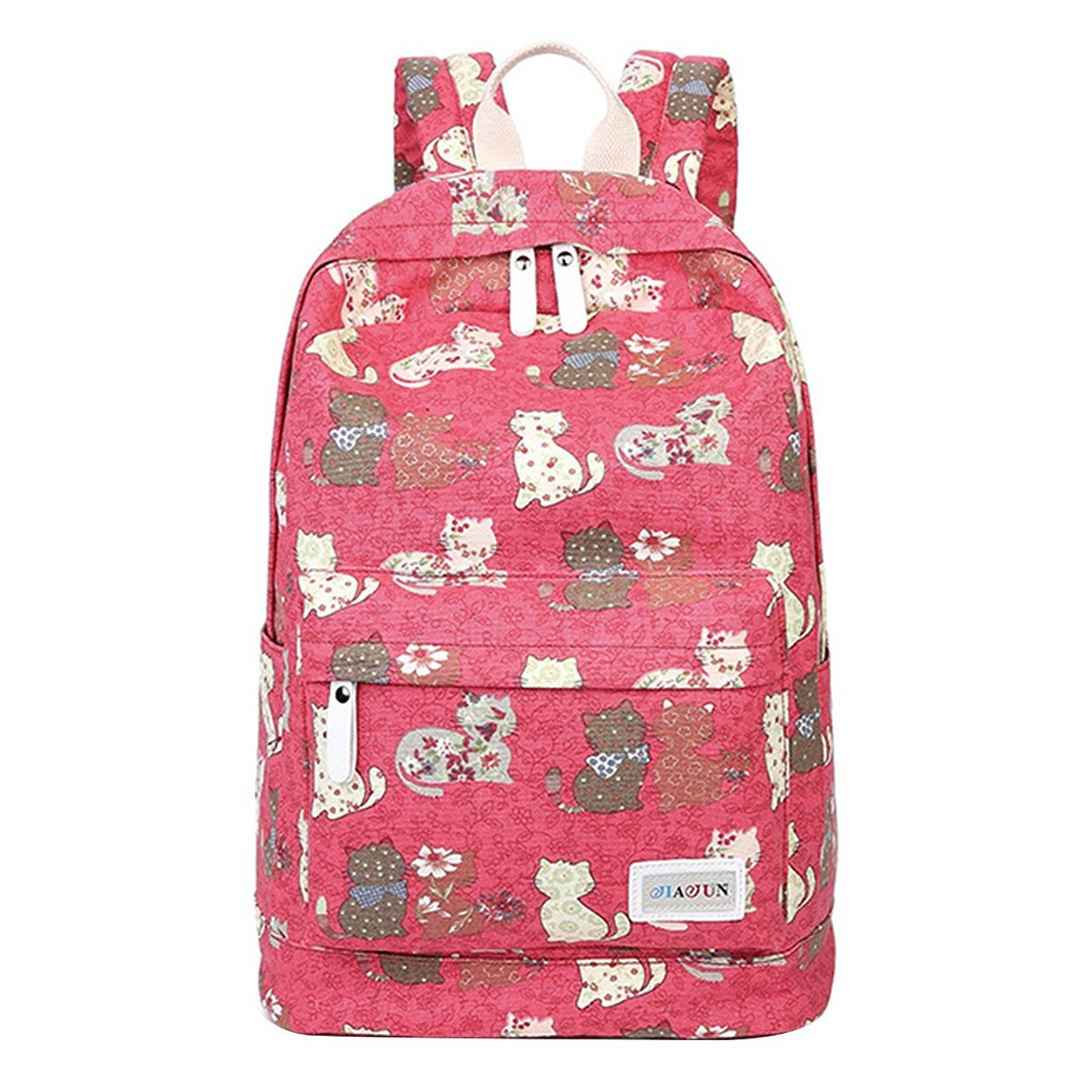 moonwind cat women travel backpack for teen girls in middle high