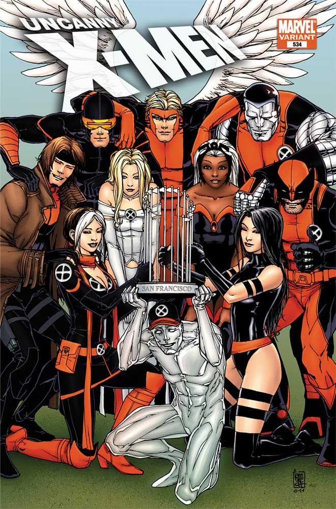 X Men Don Giants Orange And Black In Wondercon Variant X Men Marvel Girls Superhero Comic