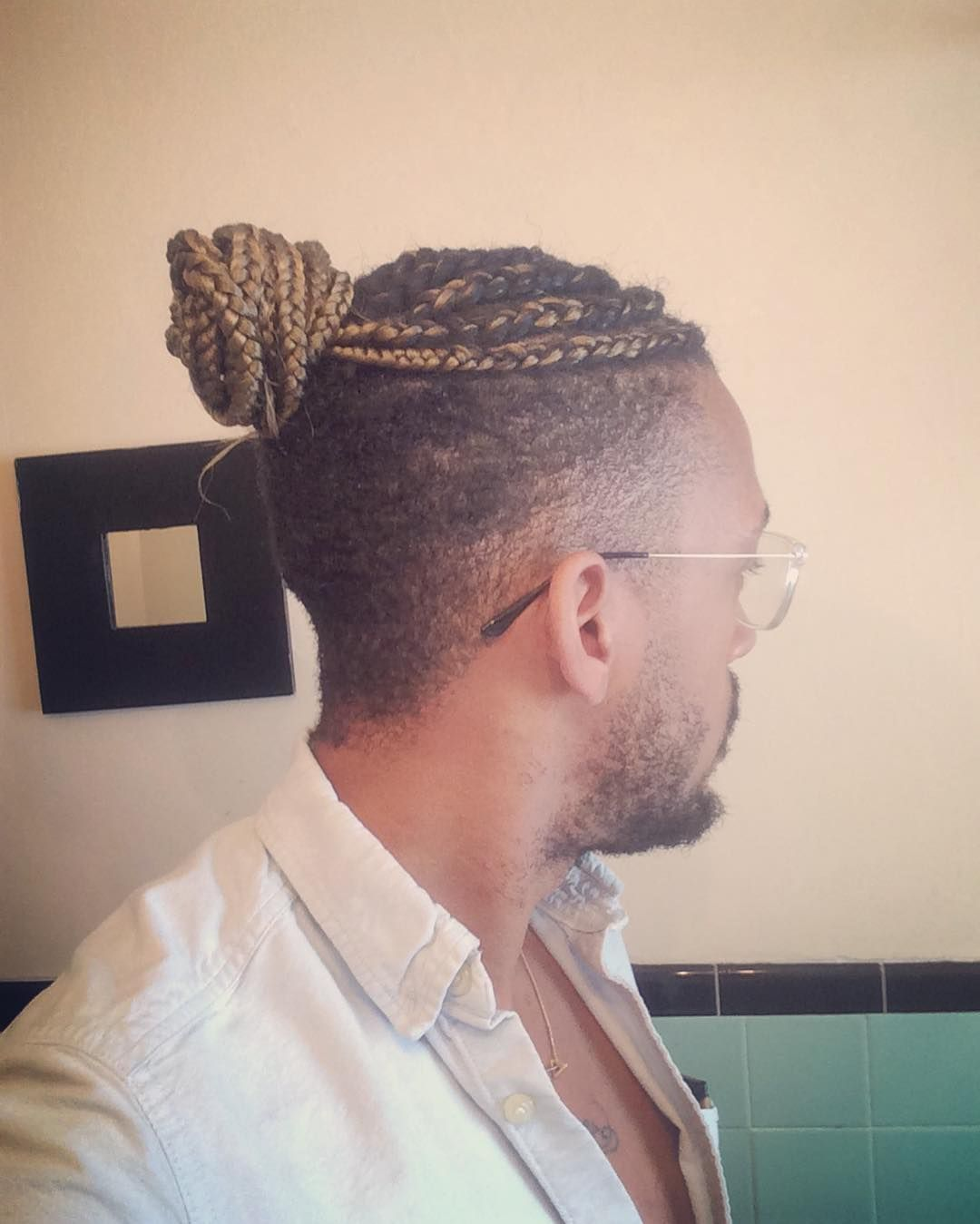 Double side haircut for boys cool  brilliant braided buns for men u double the style check more