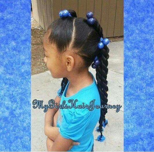 Love All Of These Hair Designs No Braiding On The Scalp Required Lil Girl Hairstyles Kids Hairstyles Girls Natural Hairstyles