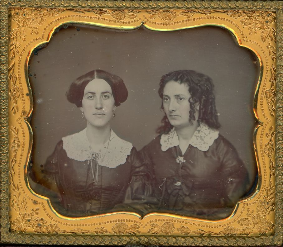 Brady Daguerreotype of Sisters or Mother Daughter | eBay