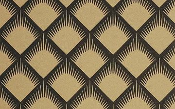 Neisha Crosland wallpaper - I adore this for its lovely art deco feel and have it in my dining room.