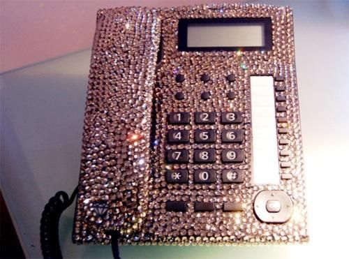 Blinged Out Desk Accessories