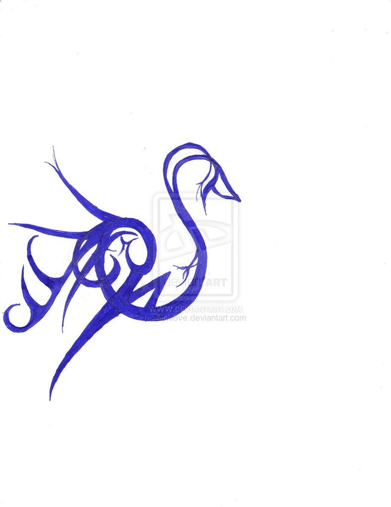 Tribal Celtic Swan Google Search Zwanen