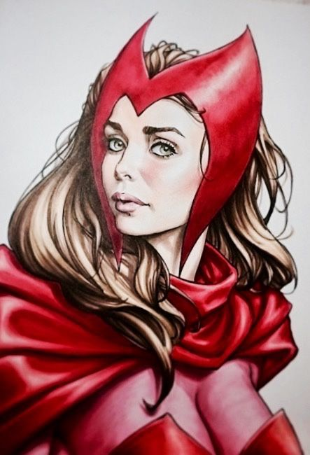 Manof2moro Scarlet Witch Comic Scarlet Witch Marvel Scarlet Witch