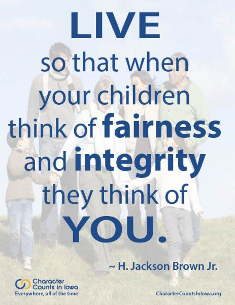 character counts quotes on fairness