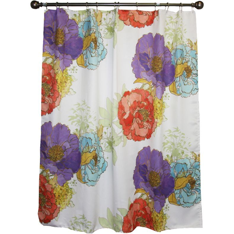 jcpenney - jcp home™ Camille\'s Garden Shower Curtain - jcpenney ...