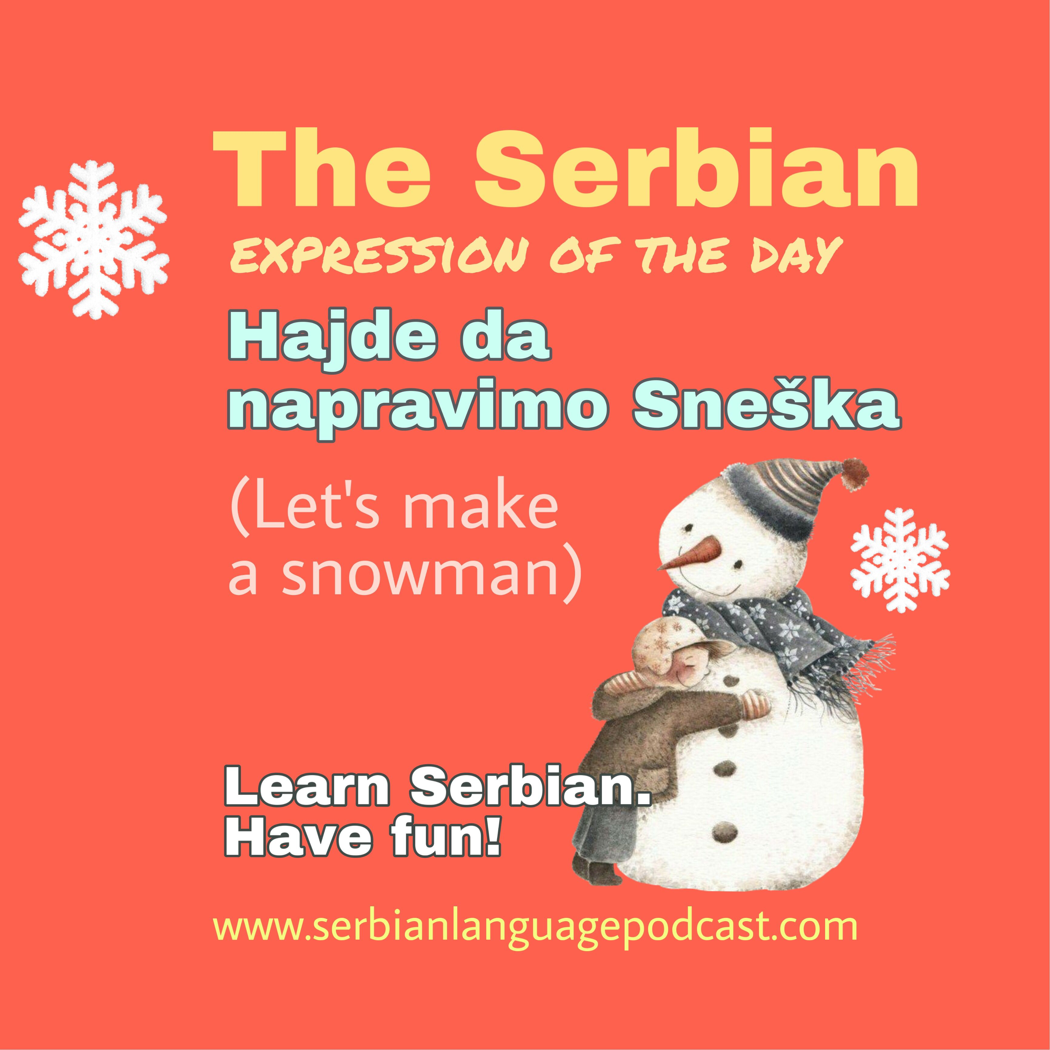 The Serbian Expression Of The Day