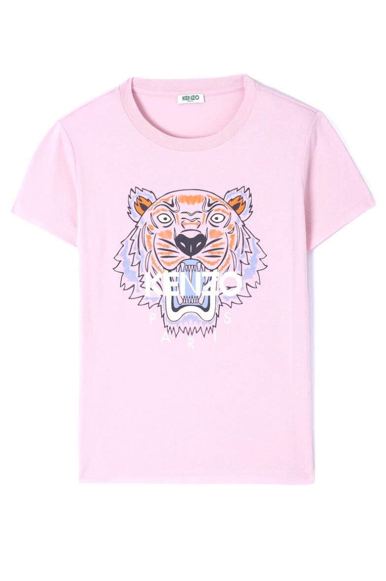 Kenzo Damen Classic Tiger T Shirt Rosa | SAILERstyle in 2020