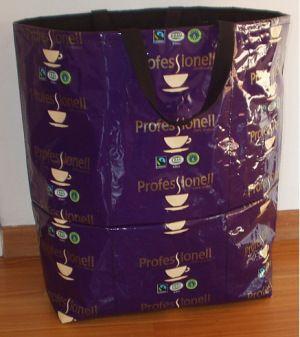 Sy en kaffekasse | Väskor | Väskmönster, Väskor och Kassar