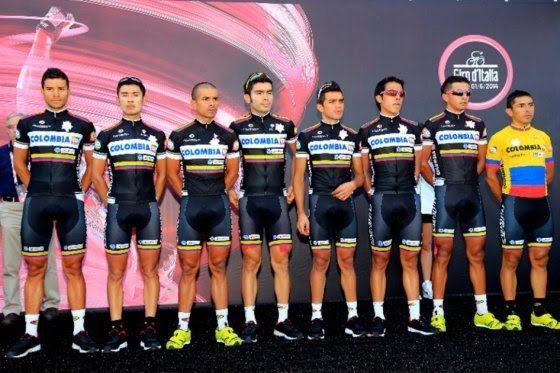 El Team Colombia no estará presente en el Giro de Italia 2015. Así lo dio a conocer este lunes la organización, que confirmó las cinco escuadras invitadas y que completan los 22 equipos de la competencia que inicia el sábado 9 de mayo en San Lorenzo al Mare.