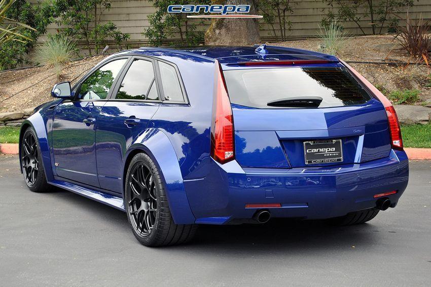 Cadillac Cts V Wagon Wide Body Kit Woodies Wagons Pinterest