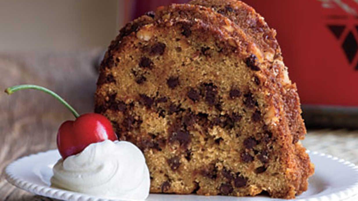 Chocolate chip bundt cake recipe in 2020 chocolate