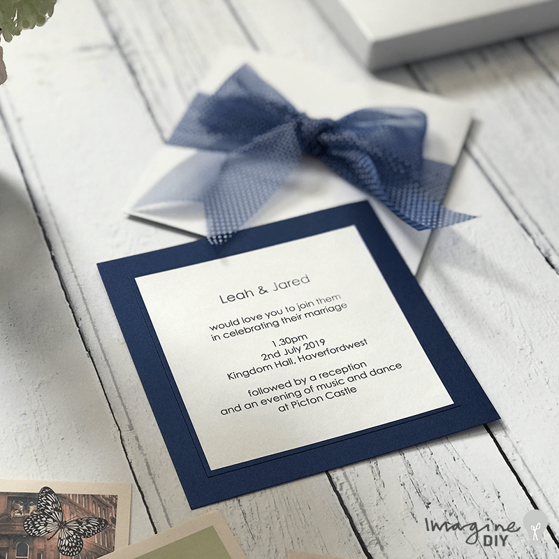 How To Make Organza Polka Dot Wedding Stationery Wedding