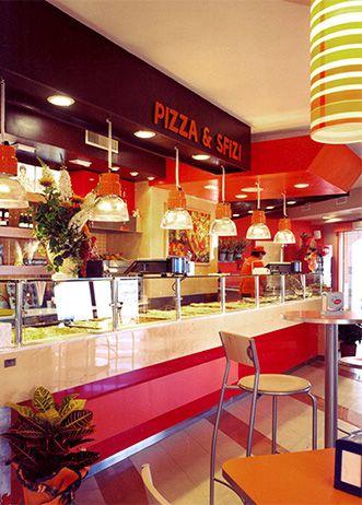 Rosso pachino pizzeria via di tor vergata 295 design for Pizzeria arredamento