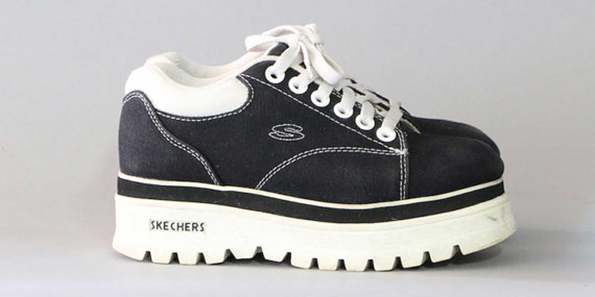 9f0569033b4 Skechers Platforms. So cool in the day! I d wear these now if I could!