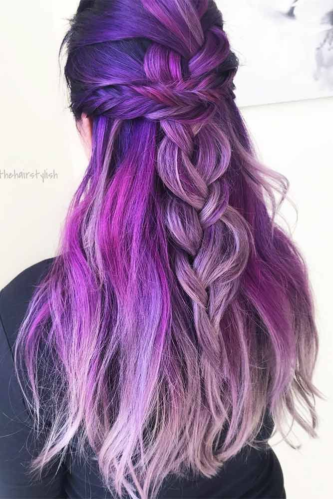 Awesome Purple Hairstyles