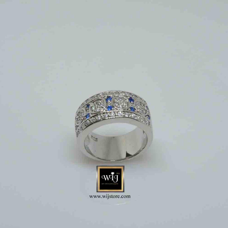 خاتم فضة نسائى عيار 925 Wedding Rings Rings Engagement Rings