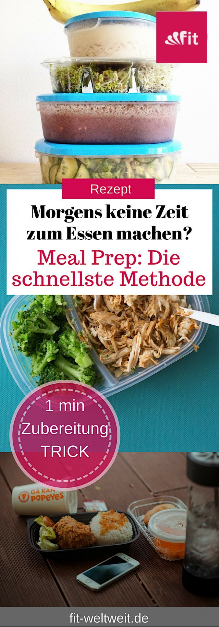 Photo of Prepare meal prep meals quickly with this method (university, office and food to go) – fit-weltweit.de