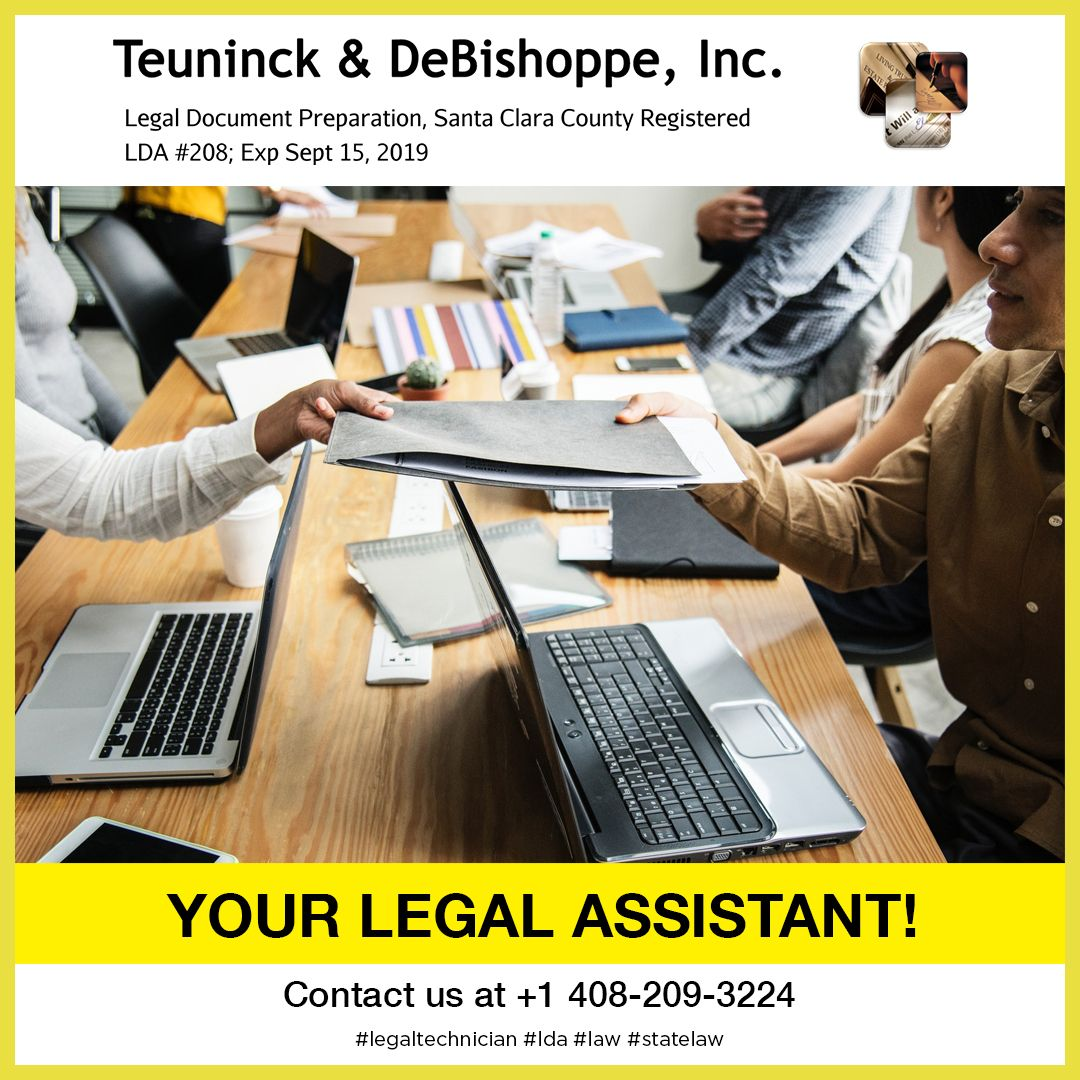 Your Legal Assistant We Are A Legal Document Assistant Lda Also