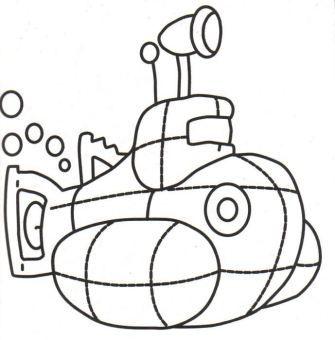 Submarino 2 Dibujos Para Colorear Dibujos Dibujos De Coches