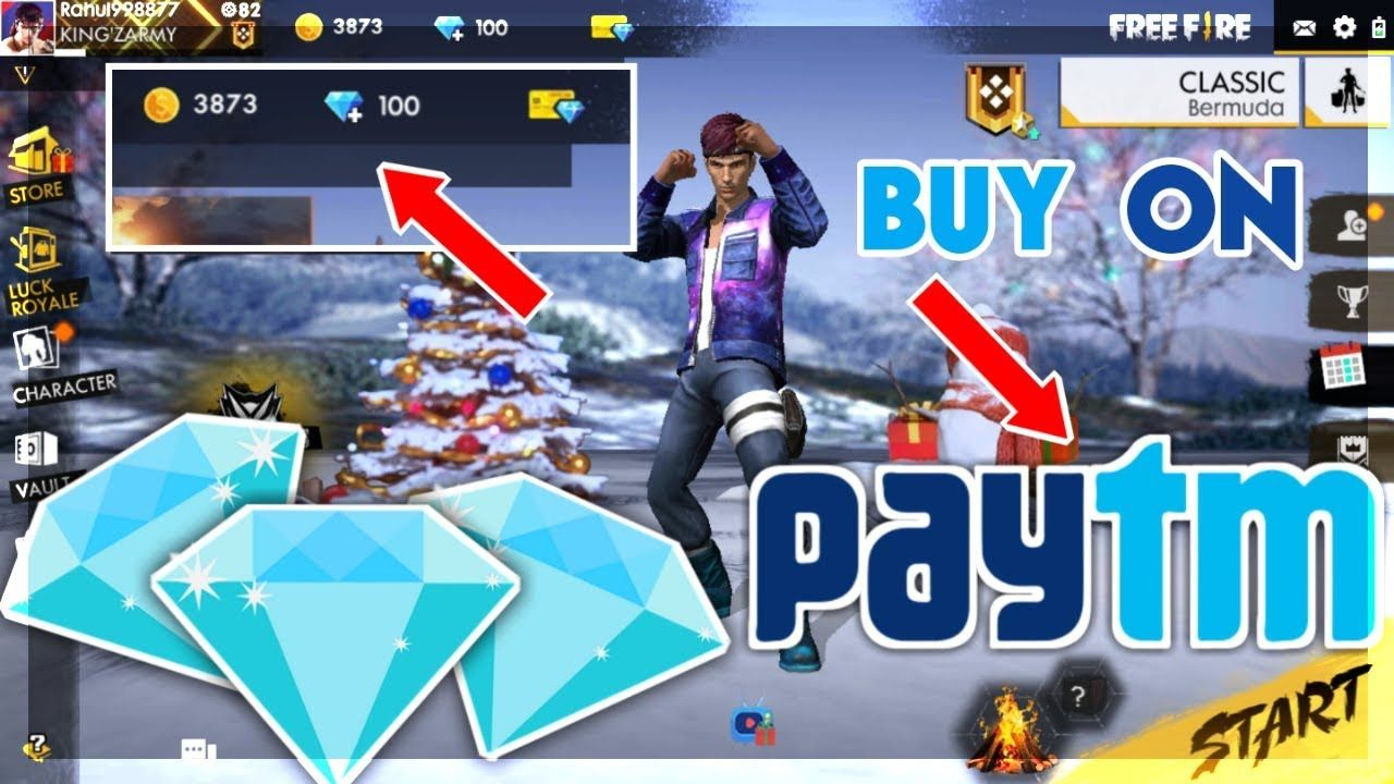 How To Buy Diamonds In Free Fire Using Paytm Full Payment Method Explain Free Fire Battelground Buying Diamonds Diamonds Online Stuff To Buy