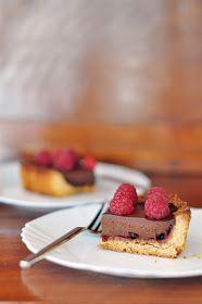 Sere in cucina: Crostata di farro con cioccolato e lamponi