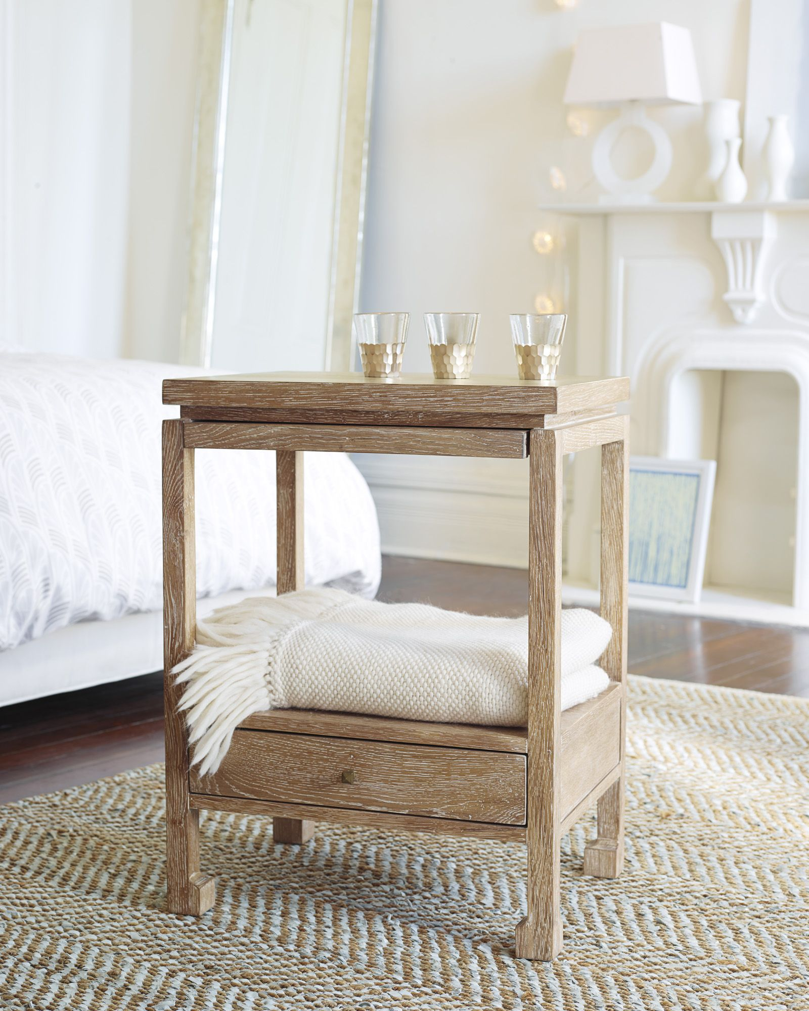Bedside table and bed - Reese Side Table Tables Serena And Lily