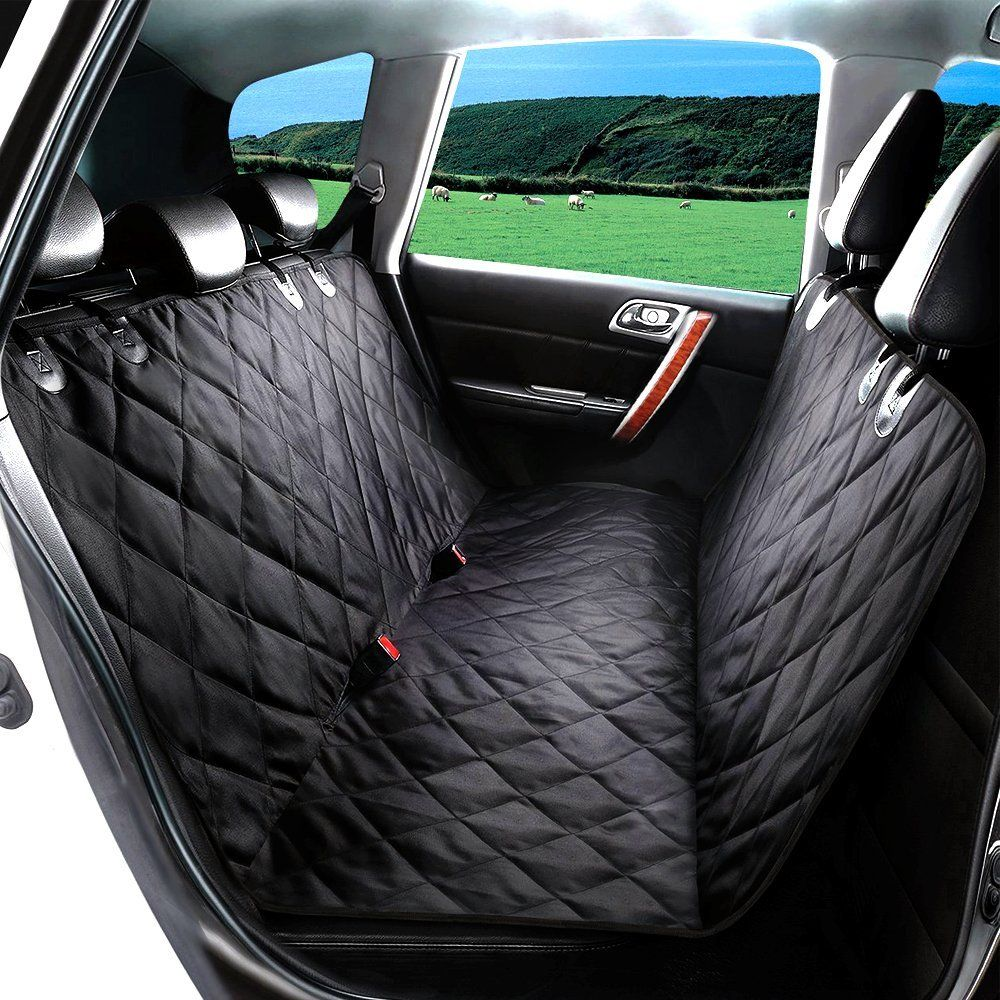 Tiovery Dog Seat Cover Pet Car Seat Covers With Anchors Waterproof And Nonslip Rubber Backing Durable Pet S With Images Dog Seat Covers Pet Car Seat Covers Pet Car Seat