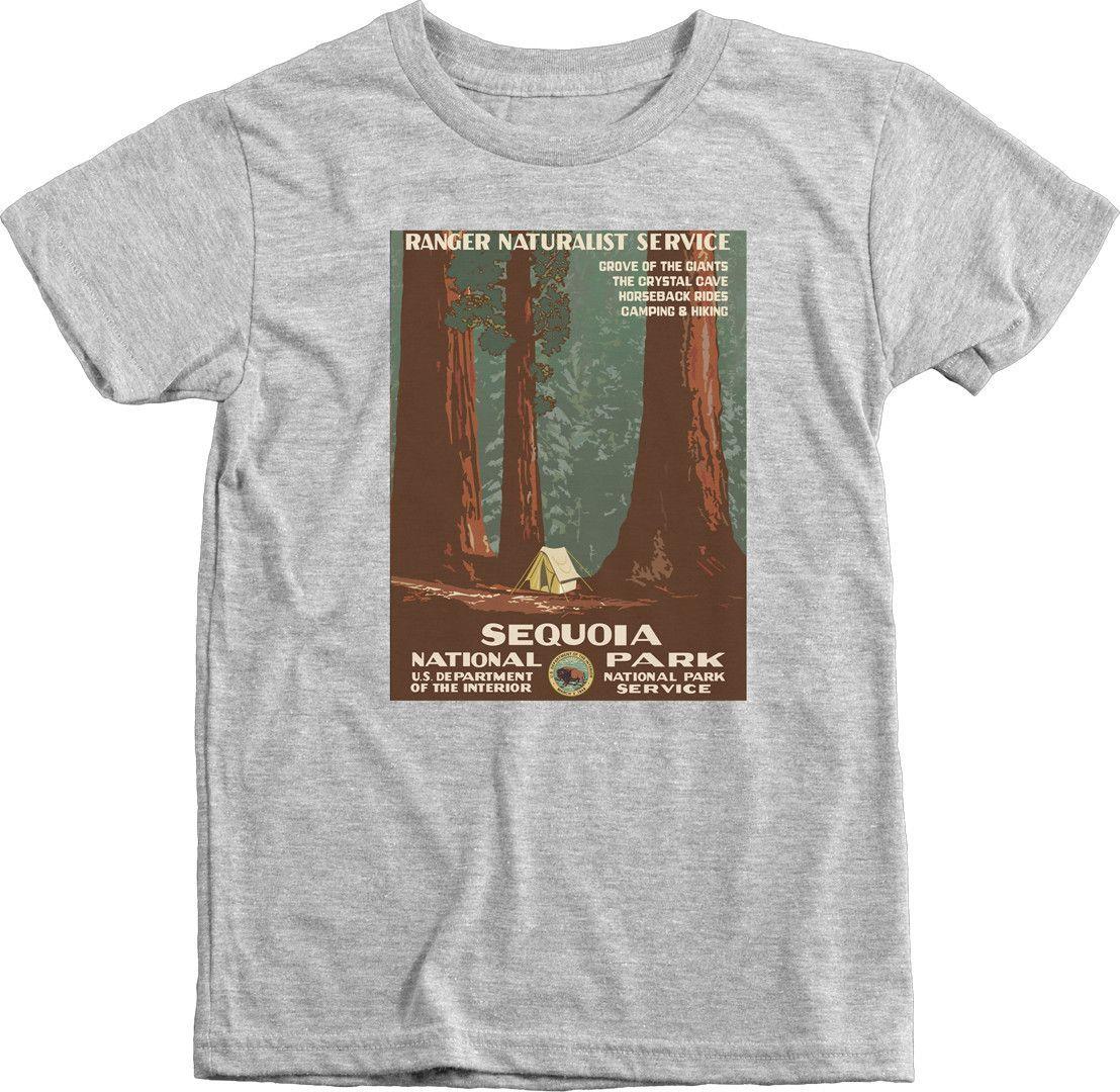 Sequoia National Park - Boys Tri-blend T-shirt