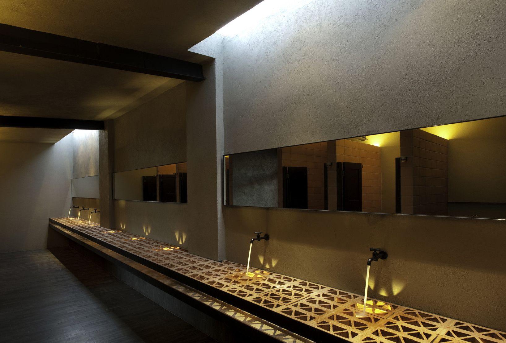Bad Modern Gestalten Mit Licht Toilette Design Tolle Badezimmer Wc Design