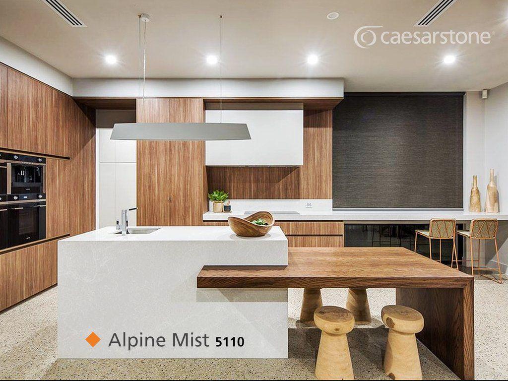 Caesarstonemx On Twitter Kitchen Island Dining Table Kitchen Design Kitchen Island Design