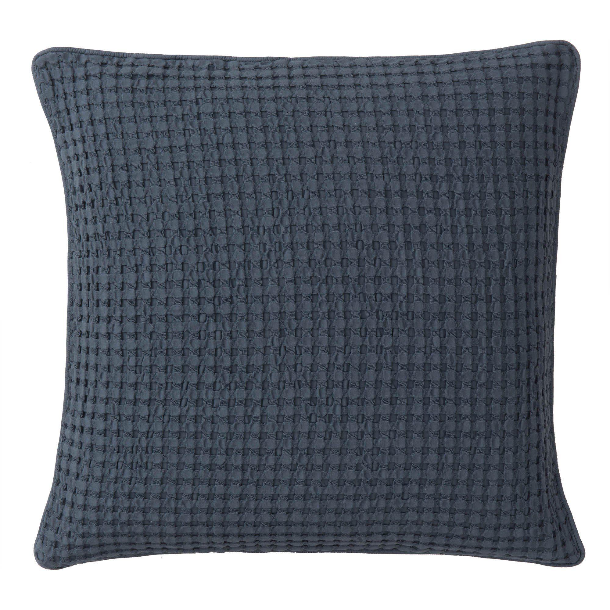 Blau Grau, Kissenhüllen Und Tagesdecke