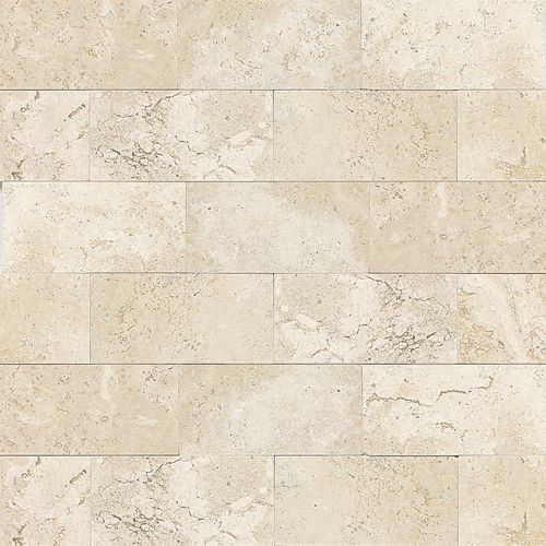 daltile travertine baja cream hones and polished t720 kitchen ...