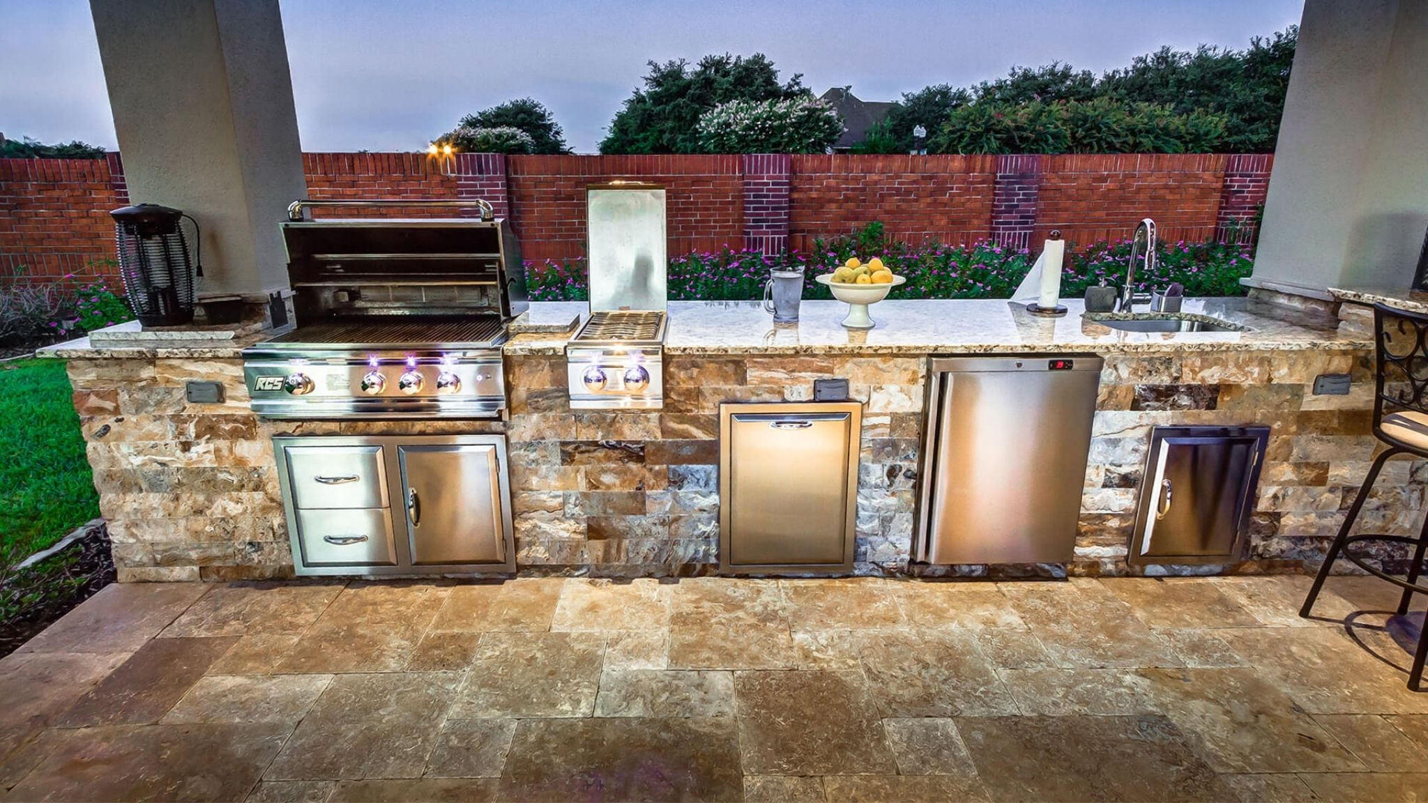 Outdoor kitchen appliances houston interior house paint ideas