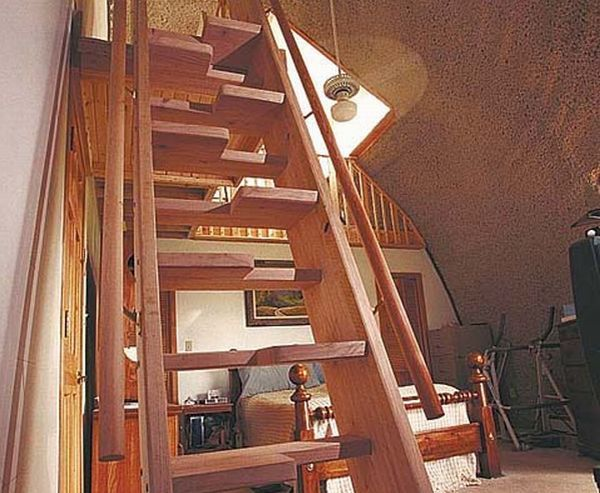 Another Alternating Tread Staircase   Nice DIY.Could This Be Done As A Full Tread  Staircase?