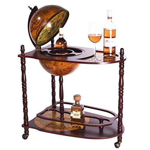 globusbar minibar weltkugel weinregal flaschenregal. Black Bedroom Furniture Sets. Home Design Ideas