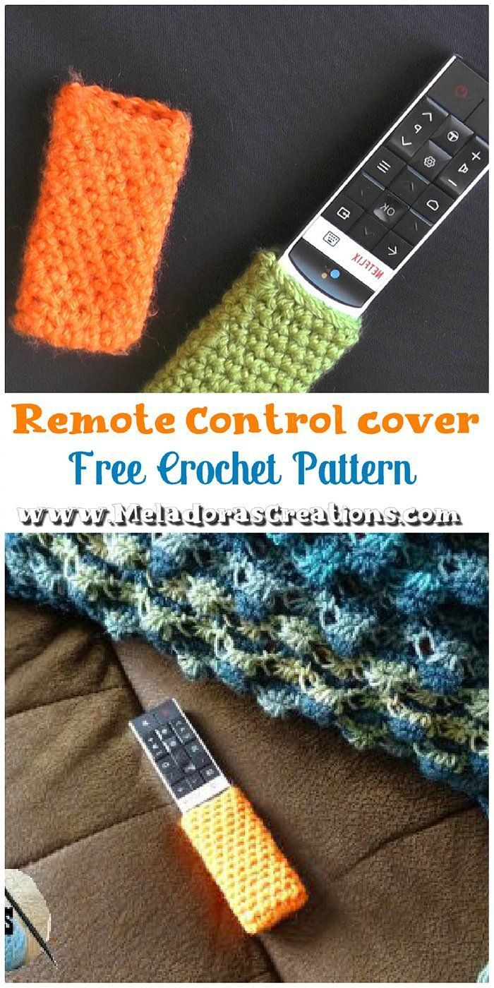 How to Crochet a Remote Control Cover Crochet Pattern