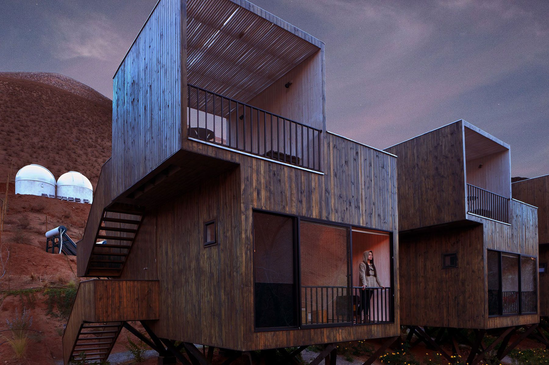 Elqui Domos Hotel by RDM Arquitectura (Video)