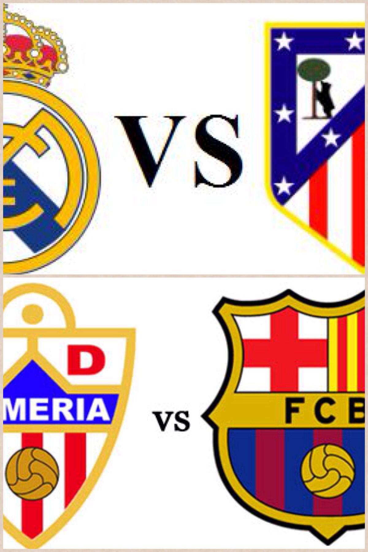 Toda la Liga en Lizarran Orihuela. A las 18:00 Almería-Barça y a las 22:00 Real Madrid-At.Madrid
