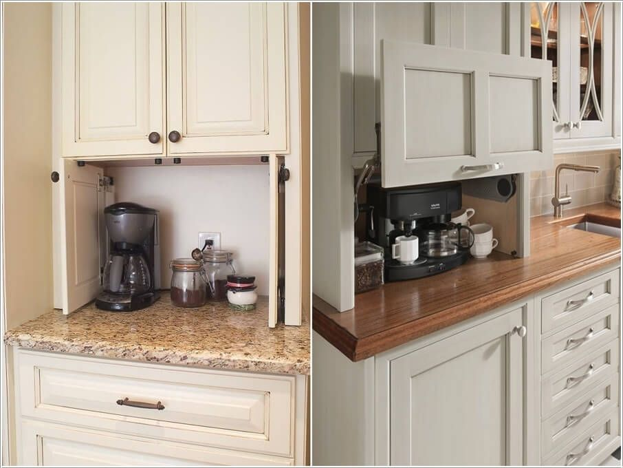 10 Clever Kitchen Counter Storage Ideas Kitchen Counter Storage