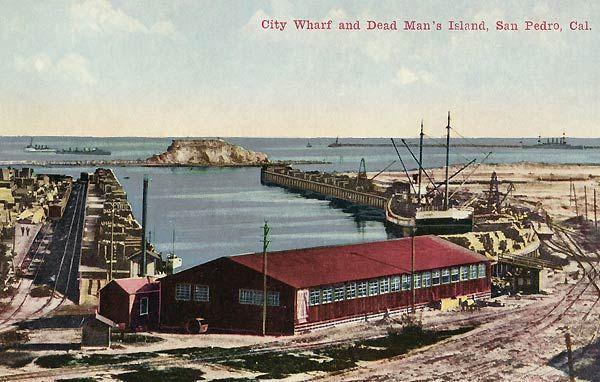 A Visit To Old Los Angeles And Environs Long Beach Harbor Los Angeles Harbor San Pedro Point Fermin San Pedro California Postcard Harbor City