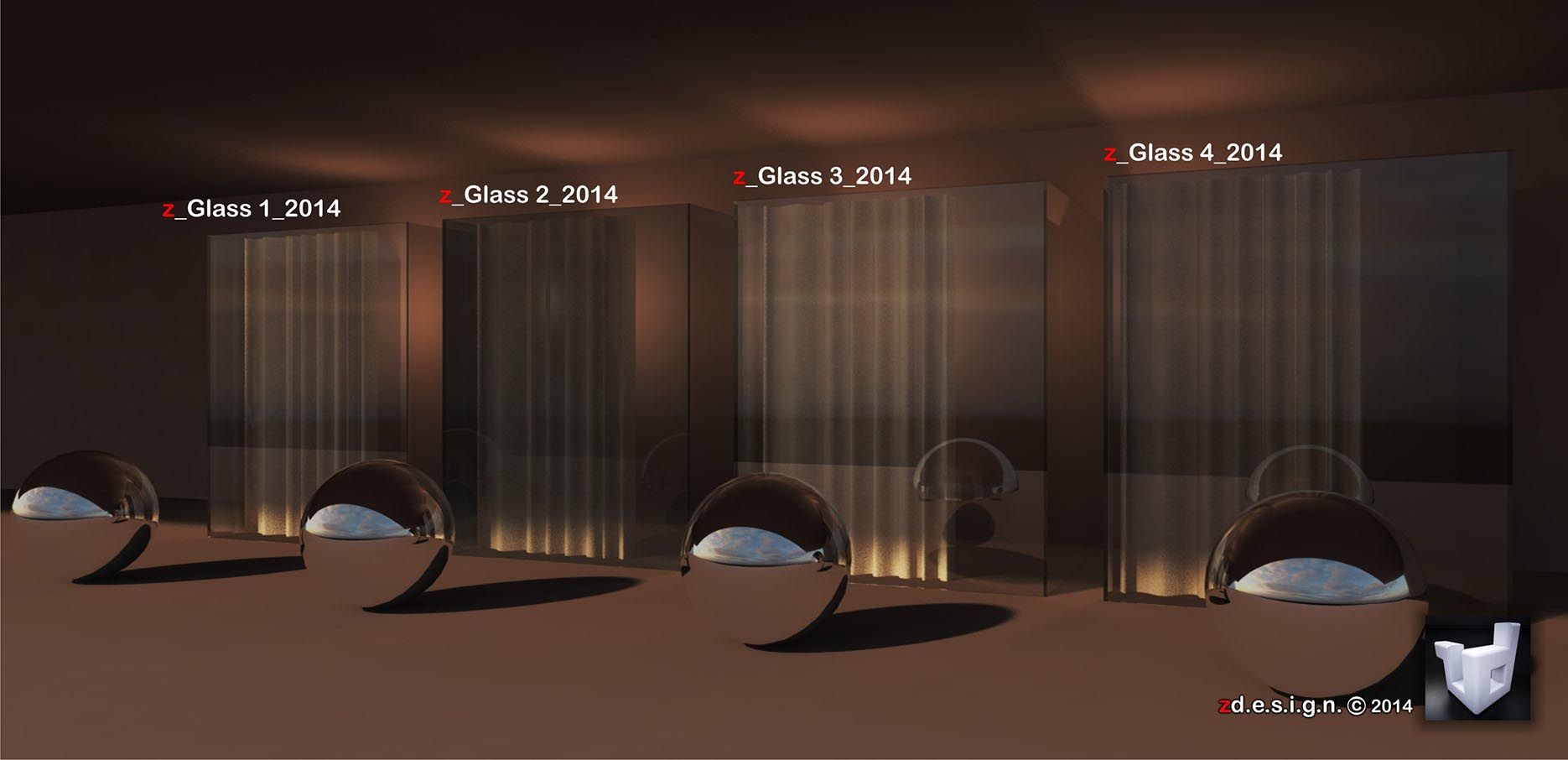 zdesign: Glass Vismat & Omni Lights Shadow setting       skp vray 2